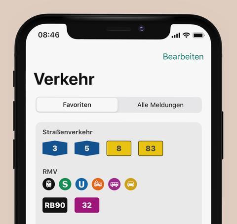 Verkehr in der hr4-App
