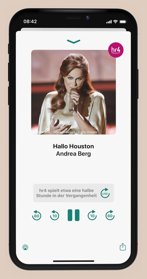 Der Bigplayer in der neuen hr4-App