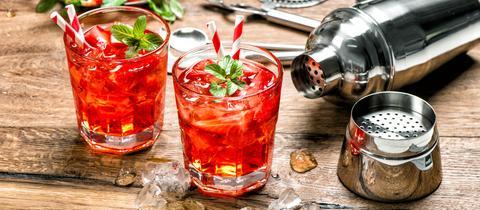 Campari im Cocktail