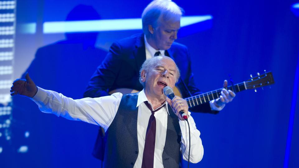 Art Garfunkel auf der Bühne