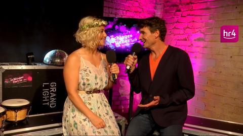 Beatrice Egli im Interview mit Uwe Becker