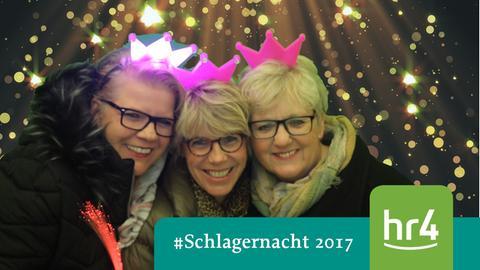 Besucher der hr4-Schlagernacht 2017