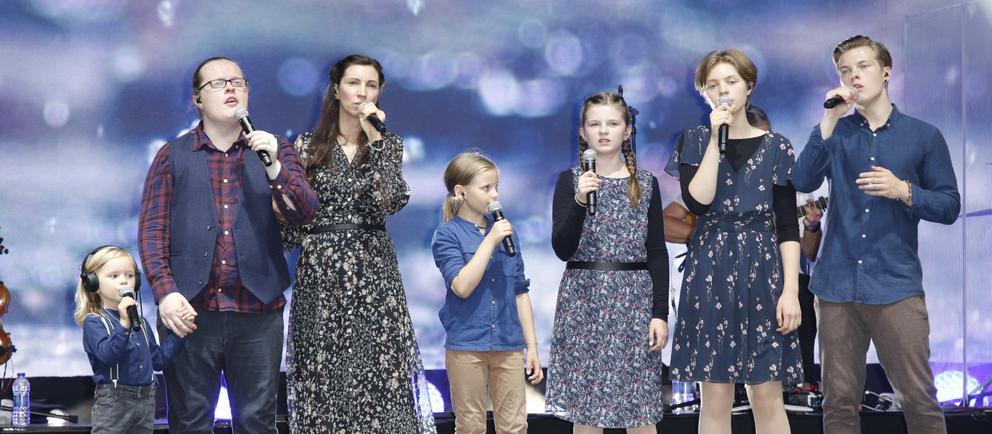 Angelo Kelly & Family auf der Bühne