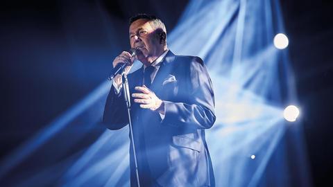 Roland Kaiser auf der Bühne