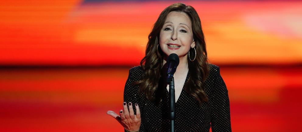 Vicky Leandros auf der Bühne
