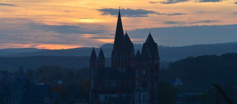 Limburg im Sonnenuntergang