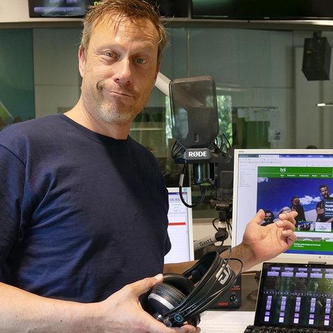 Jens Schulenburg im hr4-Studio