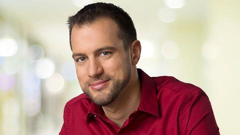 hr4-Moderator Jürgen Scholle