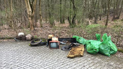 Müll von Katharina Klinger eingesammelt