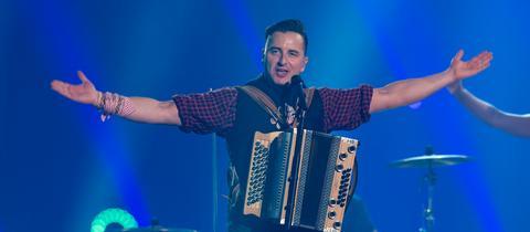 Andreas Gabalier auf der Bühne