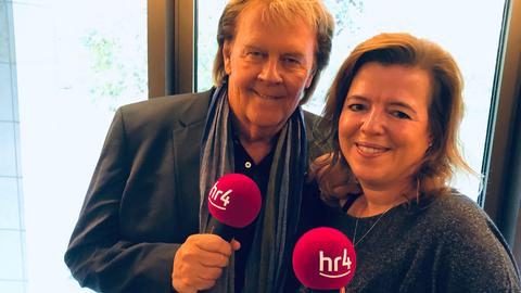 Howard Carpendale mit hr4-Moderatorin Anke Oldewage