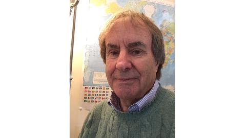 Ein Selfie von Chris de Burgh
