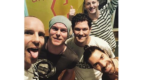 voXXclub Band-Selfie