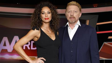 "Boris Becker und Sharlely ""Lilly"" Kerssenberg"
