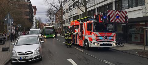 Brand im Gebäude des hr-Studio Fulda