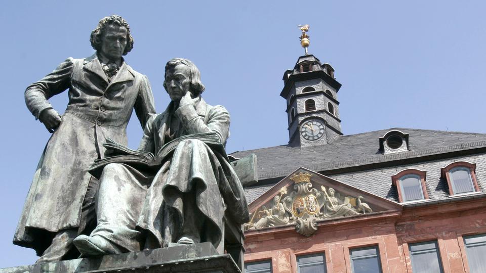Brüder Grimm-Denkmal in Hanau
