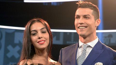 Christiano Ronaldo und Freundin Georgina Rodriguez
