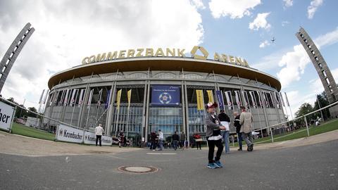 Die Commerzbank-Arena, die Heimspielstätte von Eintracht Frankfurt