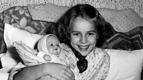 Kinderstar Conny Froboess 1953