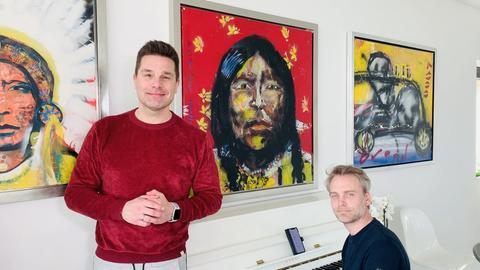 Olaf Berger, Peggy March, Eloy de Jong