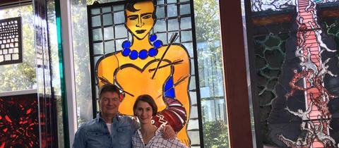 Dieter Voss und Dr. Anna Rothfuss