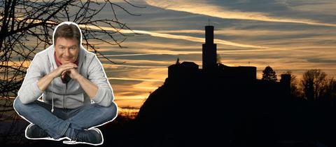 Dieter auf dem Felsberg