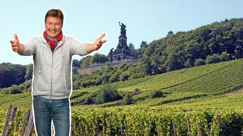 Dieter Voss am Niederwalddenkmal