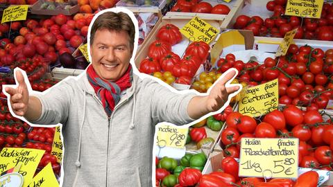 Dieter Voss empfiehlt den Wochenmarkt in Offenbach