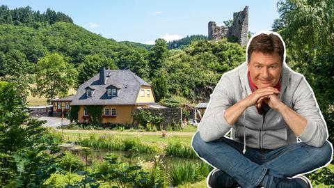 Dieter Voss im Wispertal