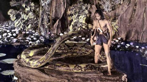 Dschungelbuch-Film aus dem Jahr 1942 mit Sabu als Mogli