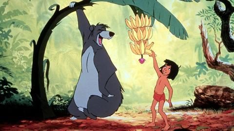 Dschungelbuch in der Zeichentrickversion von 1967 von Disney, der Klassiker