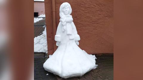 Eiskönigin in Wächtersbach
