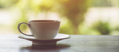 Kaffeetasse Banner hr4 Frühsendung