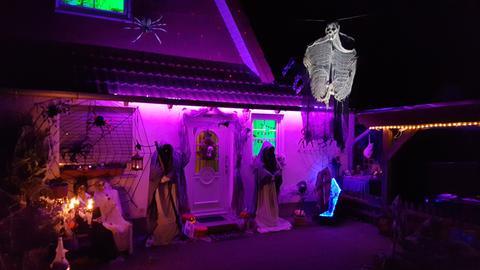 Das Halloween-Haus in Homberg/Efze