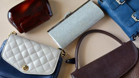 Verschiedene Handtaschen
