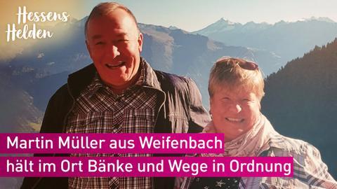 Martin Müller und seine Frau