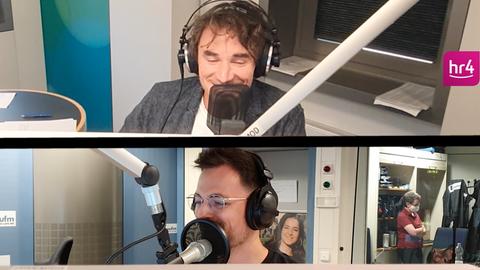 Uwe Becker und Nick von YOU FM