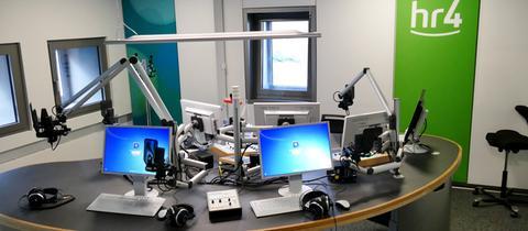 Blick ins hr4-Studio