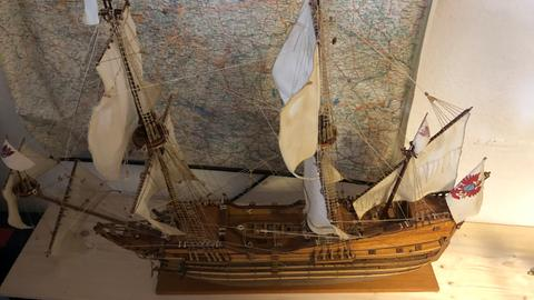 Schiffsmodelle von Jürgen Engelbert