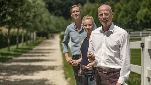 Max von Thun, Valerie Huber und Heiner Lauterbach