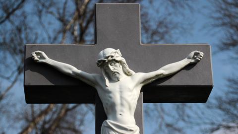 Kruzifix - Jesus am Kreuz