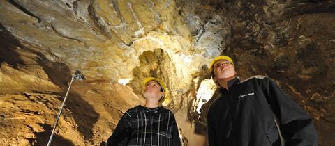 In der Kristallhöhle Kubach