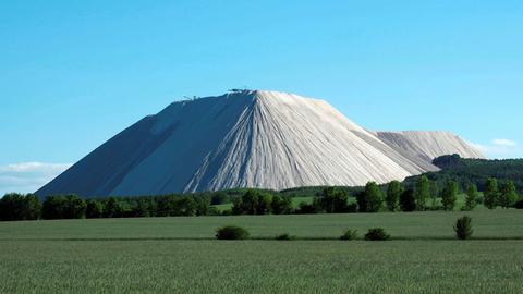 Der Monte Kali bei Heringen