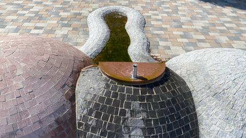 Penis-Brunnen in Jossgrund