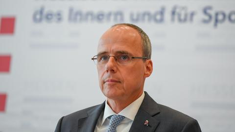 Der hessische Innenminister Peter Beuth
