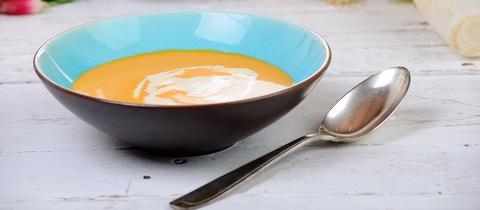 Mango-Kürbissuppe
