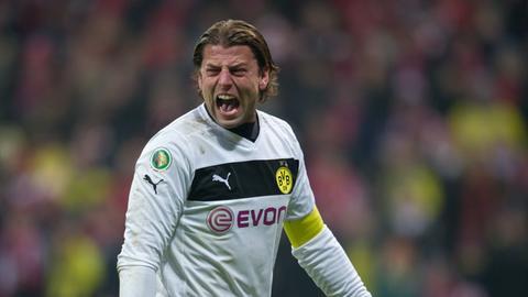 Roman Weidenfeller als Kapitän von Borussia Dortmund