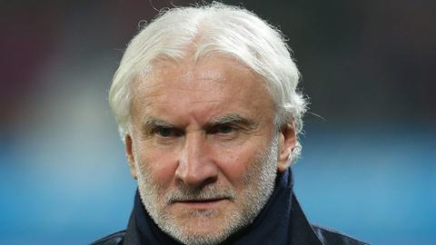 Rudi Völler heute mit grauen Haaren
