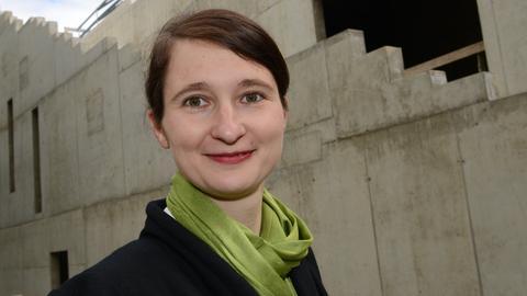 """Susanne Völker, Leiterin der """"GRIMMWELT"""" in Kassel"""