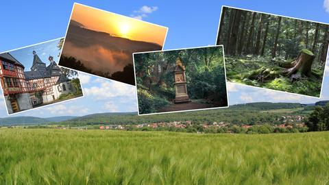 Landschaft in Hessen